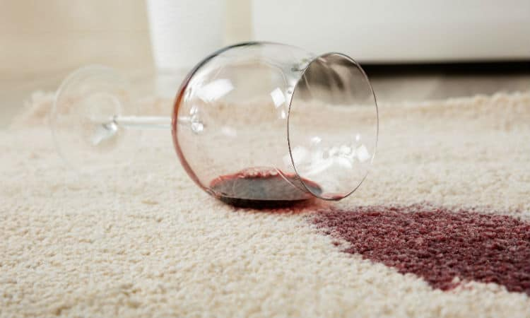 Ways To Get Rid of Red Wine From The Carpet