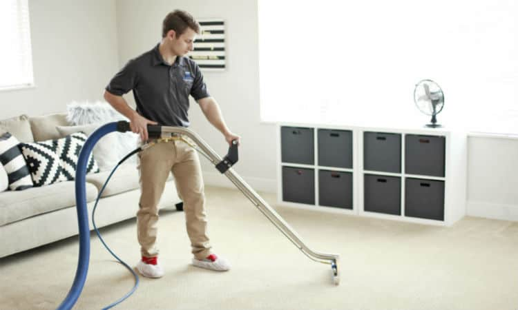 Job Description of a Residential Carpet Cleaner